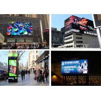 China High Resolution Outdoor Advertising LED Display Board Real Pixels SMD2727 6mm Pixels on sale