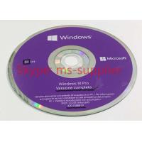 Windows 10 Professional Retail Version DVD / USB Flash + COA License Sticker Manufactures