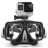 Waterproof Scuba Diving Mask Customized Logo With Camera Gopro LM5352 Manufactures