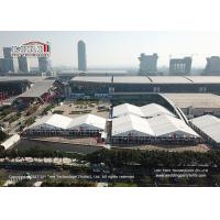 China 50m Span Width Outdoor Exhibition Tents For Canton Fair Trade Show on sale