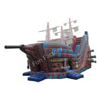Inflatable Water Slide Port Macquarie: Funny Giant Pirate Ship Inflatable Slide / Inflatable