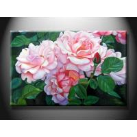 Hotel Decorative Landscape Paint Handmade Oil Painting with Flower XSHH103 Manufactures