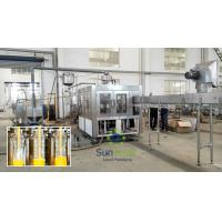 Plastic Bottle Hot  Fruit Juice Filling Machine With 6 Head Manufactures