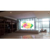 China Ultra Thin Indoor Full Color LED Display P2 High Definition Pixel Density 250000/m2 on sale