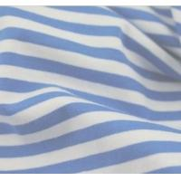 100% cotton yarn dyed Navy Blue and White stripe fabric Manufactures