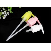 Colorful Plastic PP Olive Oil Cosmetic Pump Dispenser With External Spring Manufactures