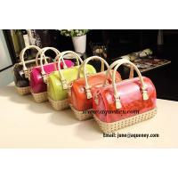 Wholesale fashion vogue silicone handbag, Candy jelly bag Manufactures