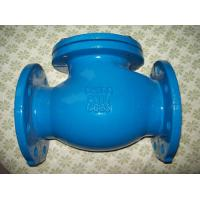 High pressure BS5153 / DIN3202 F1 / BS4090 cast iron swing check valve Manufactures