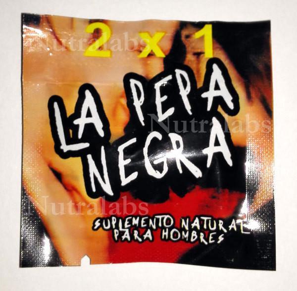 Quality La Pepa Negra Rabbit Vibrator Sex Toys Male Enhancement Capsules for sale