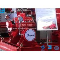 Horizontal Centrifugal Fire Pump Ductile Cast Iron With Air / Water Cooling Manufactures