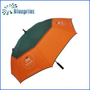 China 14mm Popular custom wind-proof Logo Printed Golf Umbrella on sale