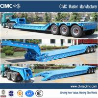 goose neck detachable low loader trailer for sale Manufactures
