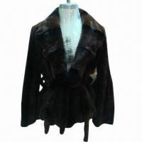 China Ladies' rabbit fur coat on sale