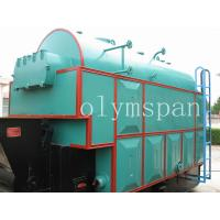 Oil Heating Water Steel Coal Fired Steam Boiler  8 Ton , Energy Efficient Manufactures