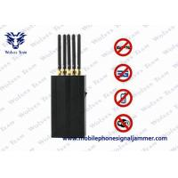 5 Antenna Portable Cell Phone WIFi GPS L1 Mobile Phone Signal Jammer Manufactures