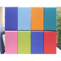 Polyester Fabric For Acoustic Panels , KTV / Gym Noise Reduction Panels