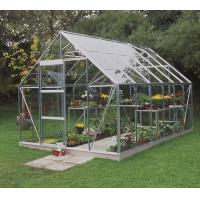 6.3*10FT greenhouse with single door Manufactures