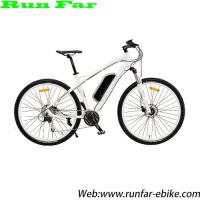 alloy frame pedal assistant system MTB style rechargable electric bicycle Manufactures