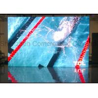 Customized indoor Commercial advertising HD P3 LED Display Screen Nova / Linsn Software Full Color LED Video Wall Manufactures