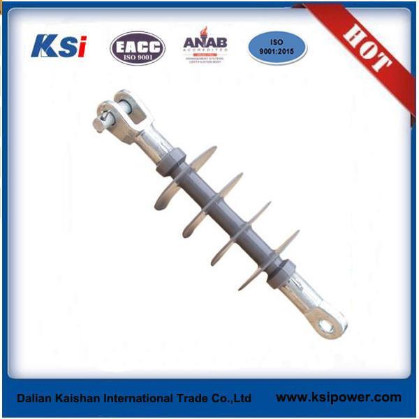Quality OEM designed 11kv / 33kv composite suspension insulator at competitive price for sale