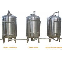 Stainless Steel RO Drinking Water Treatment Equipment for Water Filling Line Manufactures