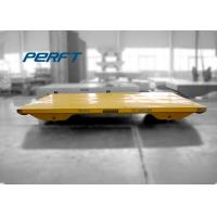 Rail Heavy Duty Flat Car / Heavy Duty Trailer With Electrical Control System Manufactures