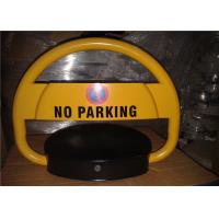 China Reserve Car Parking Lock , Steel Rolling Secure parking space barrier with Sensor on sale