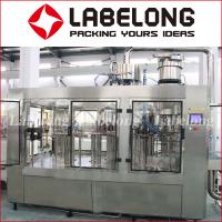 Automatic Water Bottle Filling Machine 304 Stainless Steel 3000-18000 Bottles / Hour Manufactures