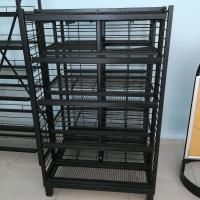 China Customized Commercial Supermarket Equipment Showy Beauty Display Rack on sale