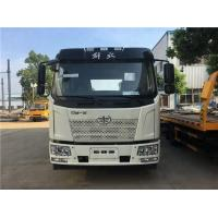 China FAW 4*2 Euro 5 Special Purpose Truck With 106KW Power Engine / Small Flatbed Truck on sale