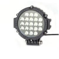63W 7 Inch Led Driving Lights For Cars Flood /Spot Black Red Yellow Driving Led Work Lights Manufactures