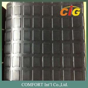 Abrasion - Resistant Black PVC Commercial Floor Coverings 350GSM CIGD3L0712 Manufactures