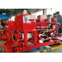 500GPM / 200PSI Diesel Engine Driven Fire Pump With Air / Water Cooling Manufactures