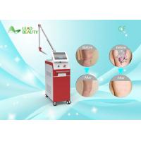 Vertical 1064nm 532nm q switched laser for tattoo removal , 1-10Hz Manufactures