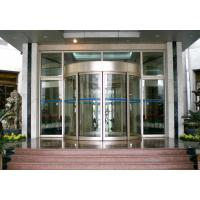 Mansion Double wing automated commercial automatic sliding glass doors Manufactures