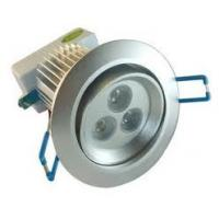 3W 30º High Lumen Led Downlight Fitting replacement, Aluminum led Ceiling Spot lamp haloge Manufactures