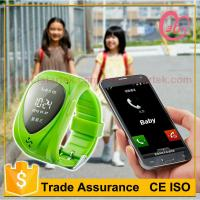 kids watch gps tracker working with smart phone Manufactures