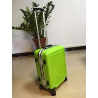 Zipper Durable Hard Shell Travel Luggage Aluminium Rob For Childrens Manufactures