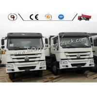 Sinotruk HOWO Lorry And 10 Wheeler Dump Truck With Max Speed 80km / H Manufactures