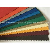 Anti Tear Oxford Fabric Waterproof , Yarn - Dyed UV Proof 600 Denier Oxford Fabric Manufactures