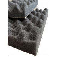 Egg Shape PU Acoustic Insulation Foam For Building Noise Reducing / Soundproof Manufactures