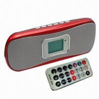 China Multimedia Sound Bar with Remote Controller, Like a Mini Calendar, Alarm Clock and Recorder on sale