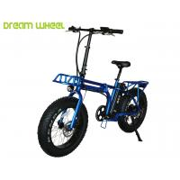"48V 13Ah Samsung cells Lithium Battery Fat tire Folding Electric Bicycle 20"" X 4.0 Kenda tire Manufactures"