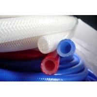 China Fiber Braided Reinforced Silicone Hose Heat Resistant For Food Industries on sale