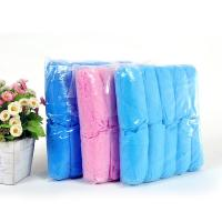 China Soft Non Slip Shoe Covers Disposable Excellent Protection From Particulates Dust And Dirt on sale