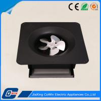 Rechargeable Small Solar Exhaust Fan , Solar Ventilation Fan With Battery Operated Manufactures