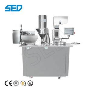 China SED-BJ-III 00# Small Moringa Powder 4kW Semi Automatic Capsule Machine Weight 350 kg on sale