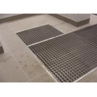 Carwash Shop Pressure Locked Steel Grating Durable High Strength Material Manufactures