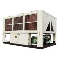 China Double Compressor trane Air Cooled Screw Water Chiller efficiency for chemical on sale