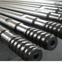 ISO9001 Approval Rock Hammer Drill / Extension Threaded Anchor Rod T38 T45 T51 Manufactures